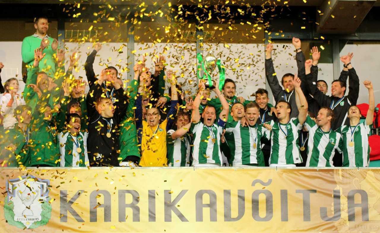 FC Flora alistas karikafinaalis Nõmme Kalju 3:1