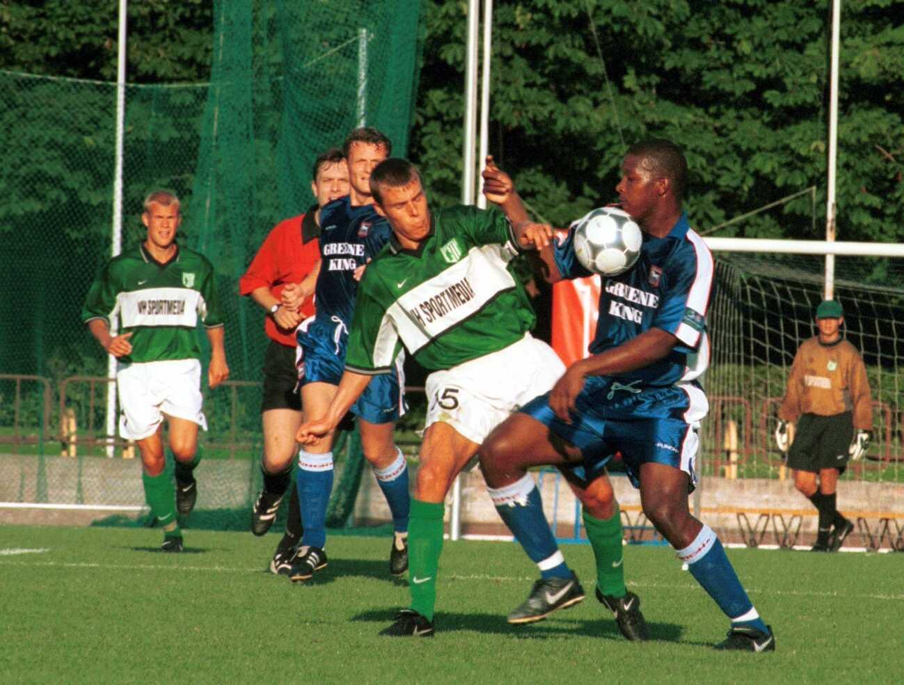 FC Flora - Ipswich Town 2000. aastal
