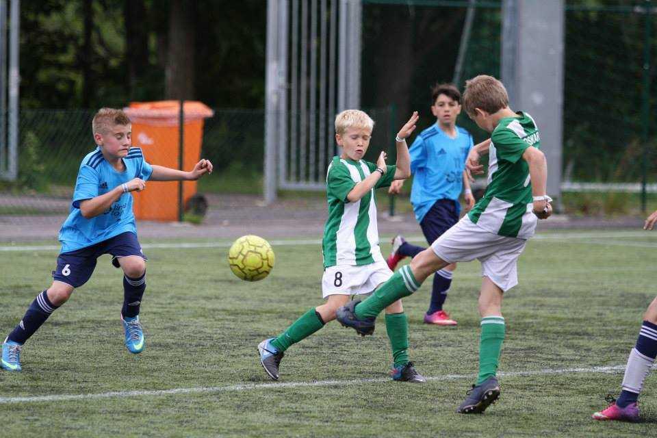 FCF 2000 poisid Gothia Cupi avamängus
