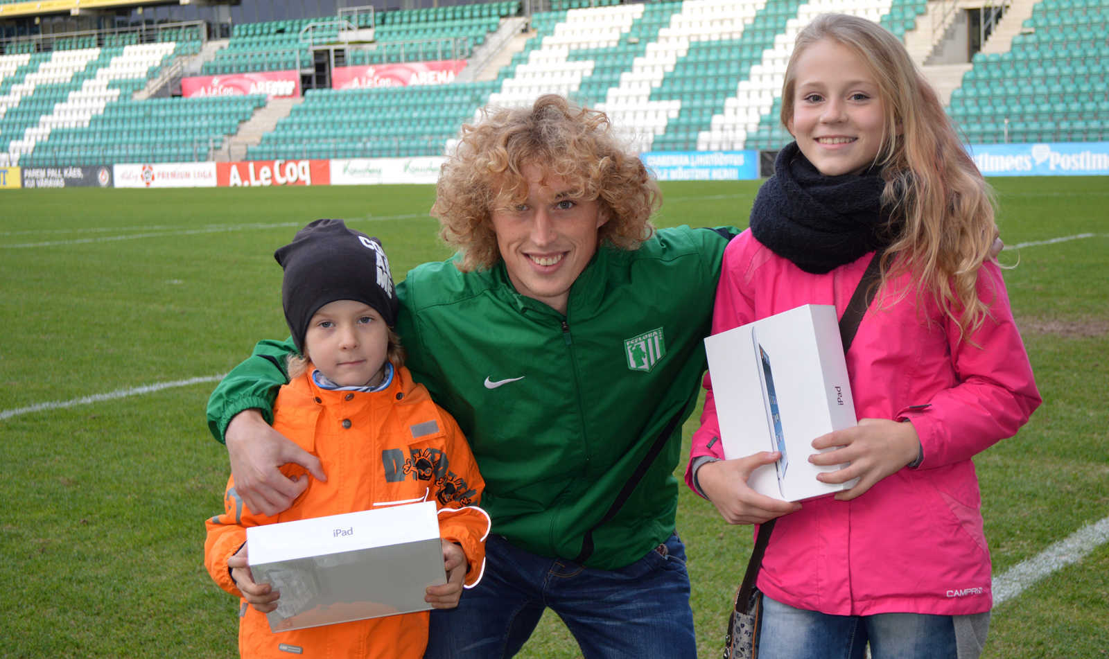 Noortekampaania iPadide võitjad