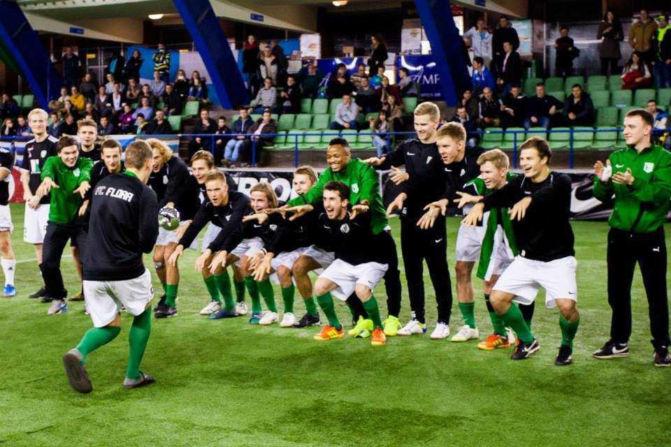 FC Flora võidukas meeskond Aastalõputurniiril 2013