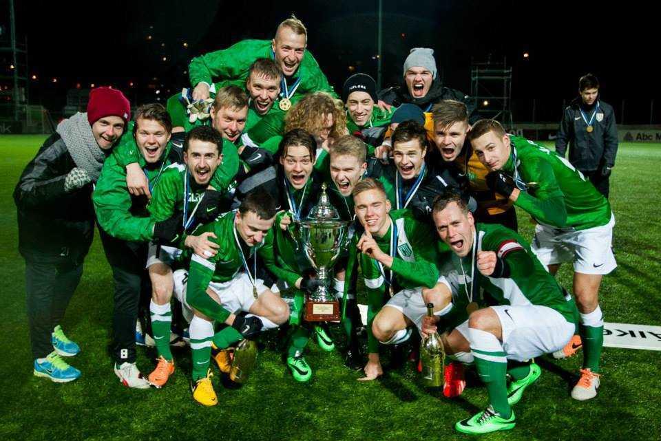 FC Flora Superkarika võitjad 2014