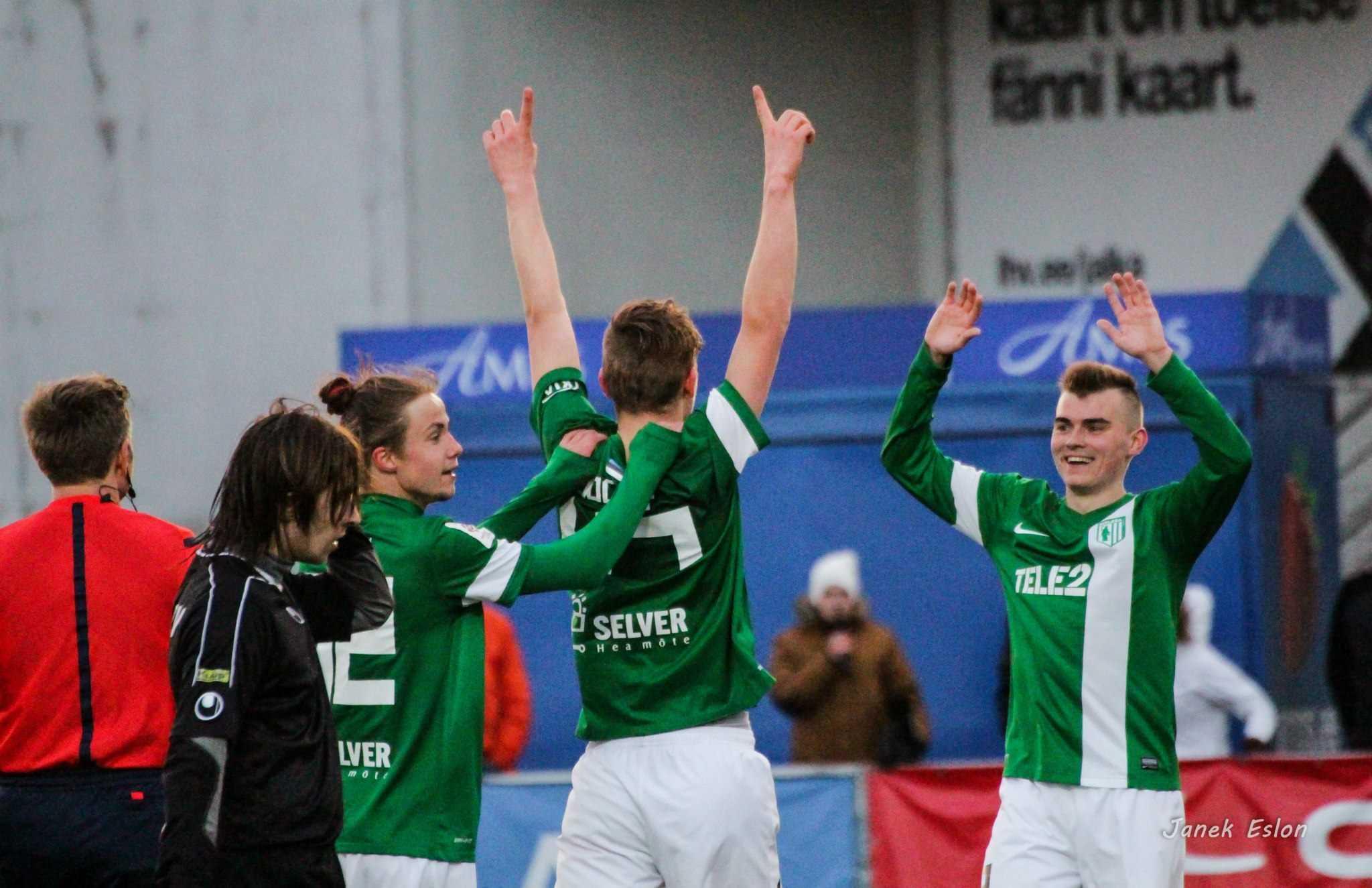 FC Flora II vs FCF Tallinna Ülikool