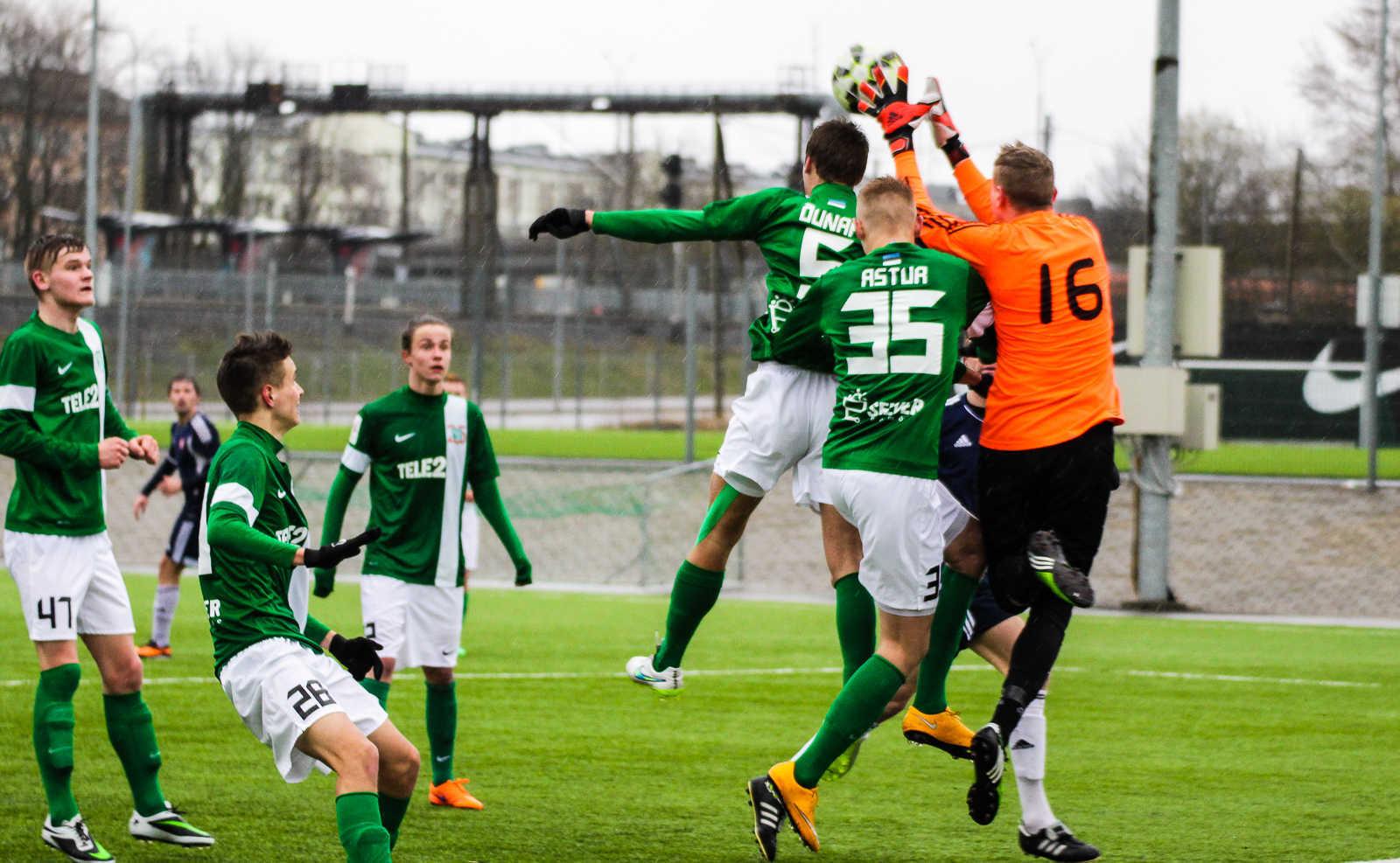 FC Flora II vs Kiviõli Irbis