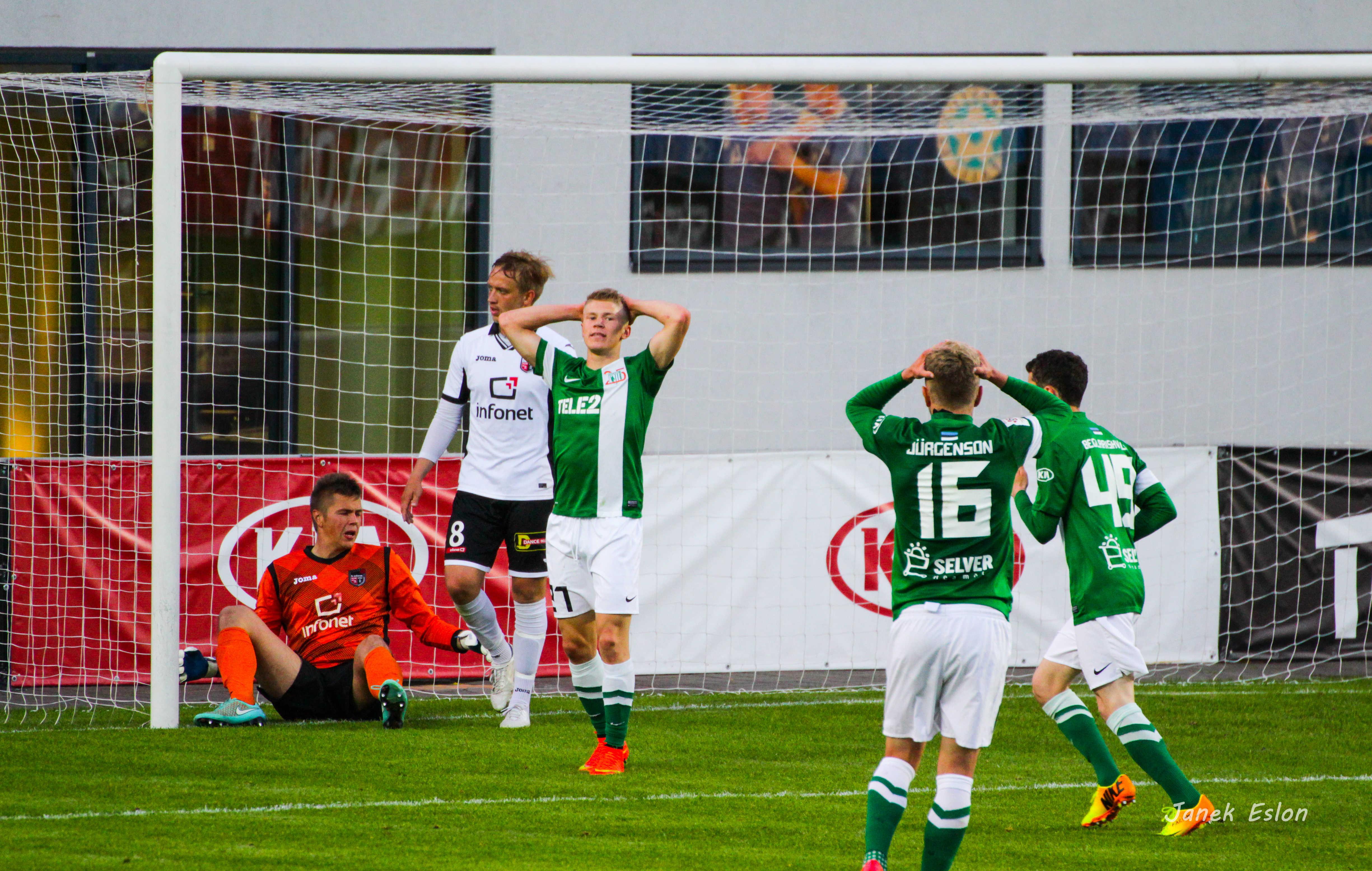 FC Flora vs FC Infonet, 20. voor