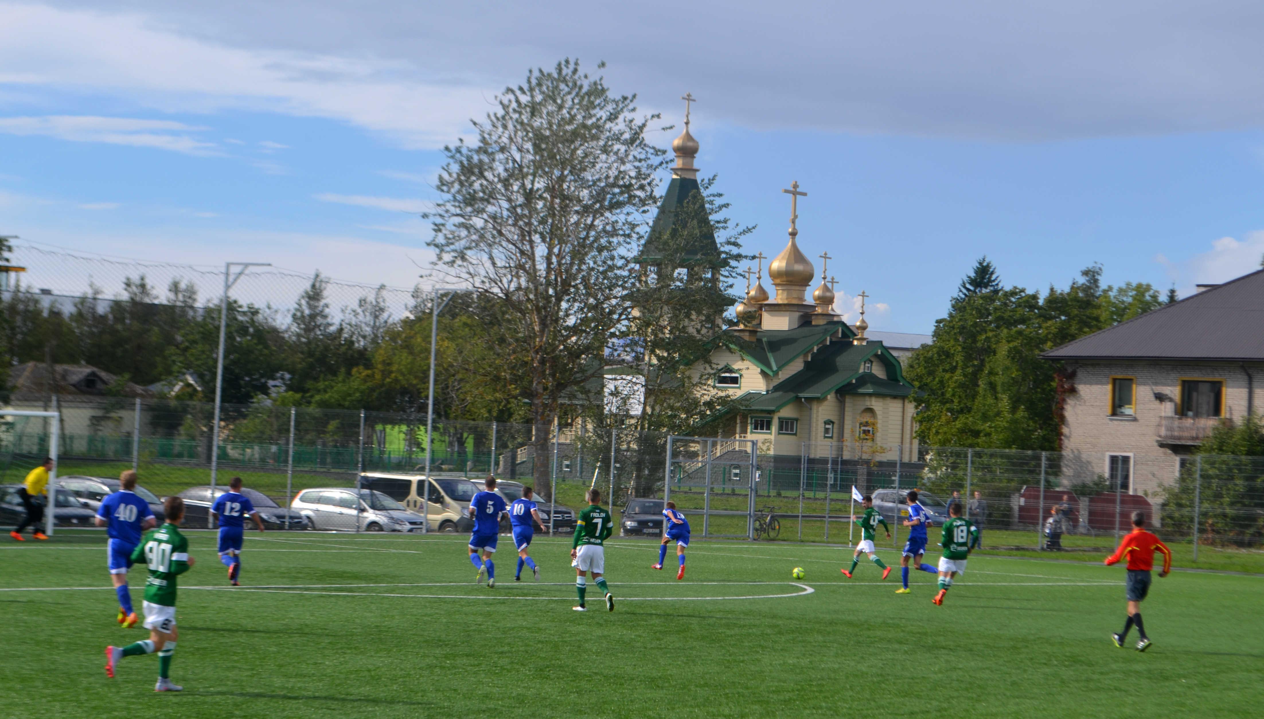 FC Flora vs Pakri SK Alexela