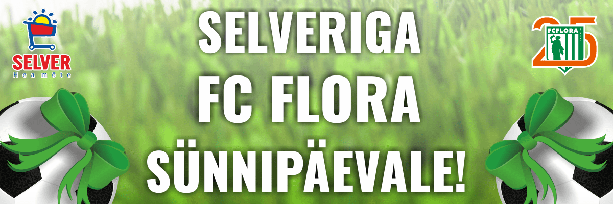 Selveriga FC Flora sünnipäevale