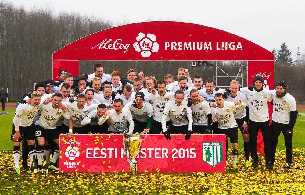 Eesti meister 2015 FC Flora!