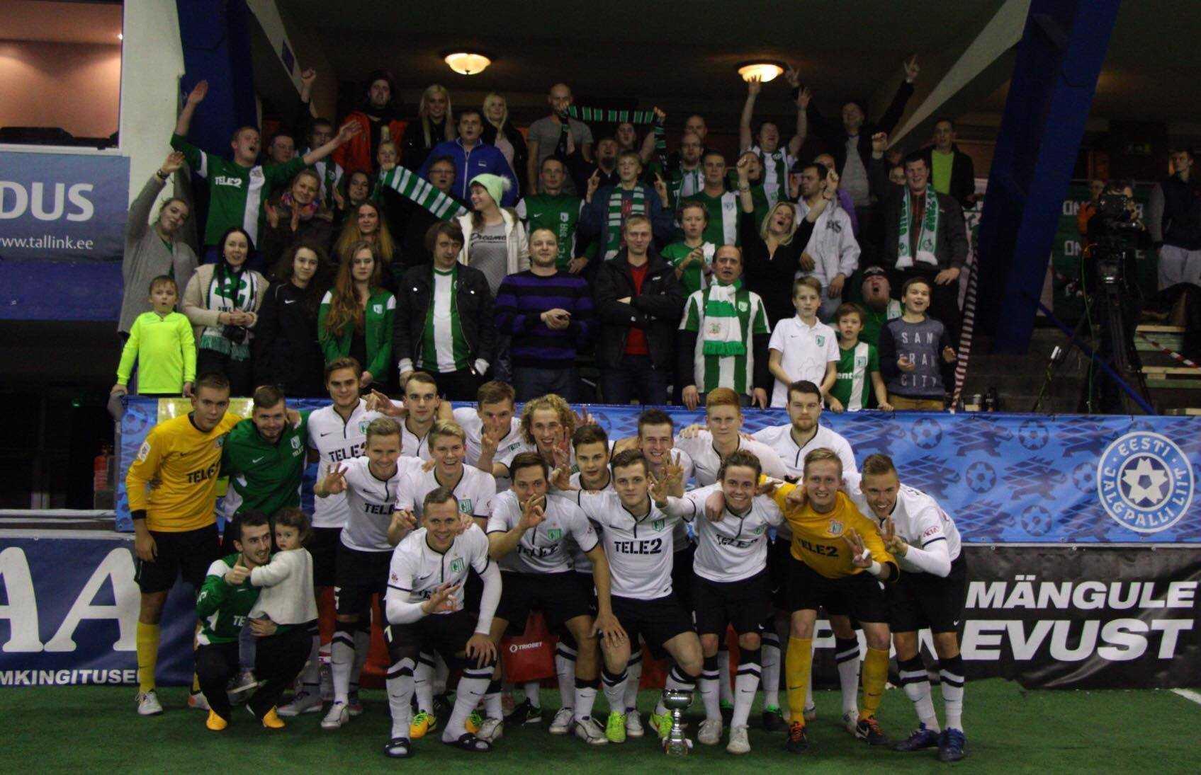 FC Flora - aastalõputurniiri 2015 võitja