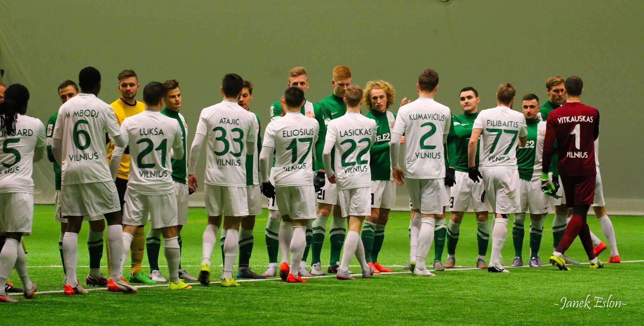 FC Flora vs Vilniuse Žalgiris 19. veebruaril 2016
