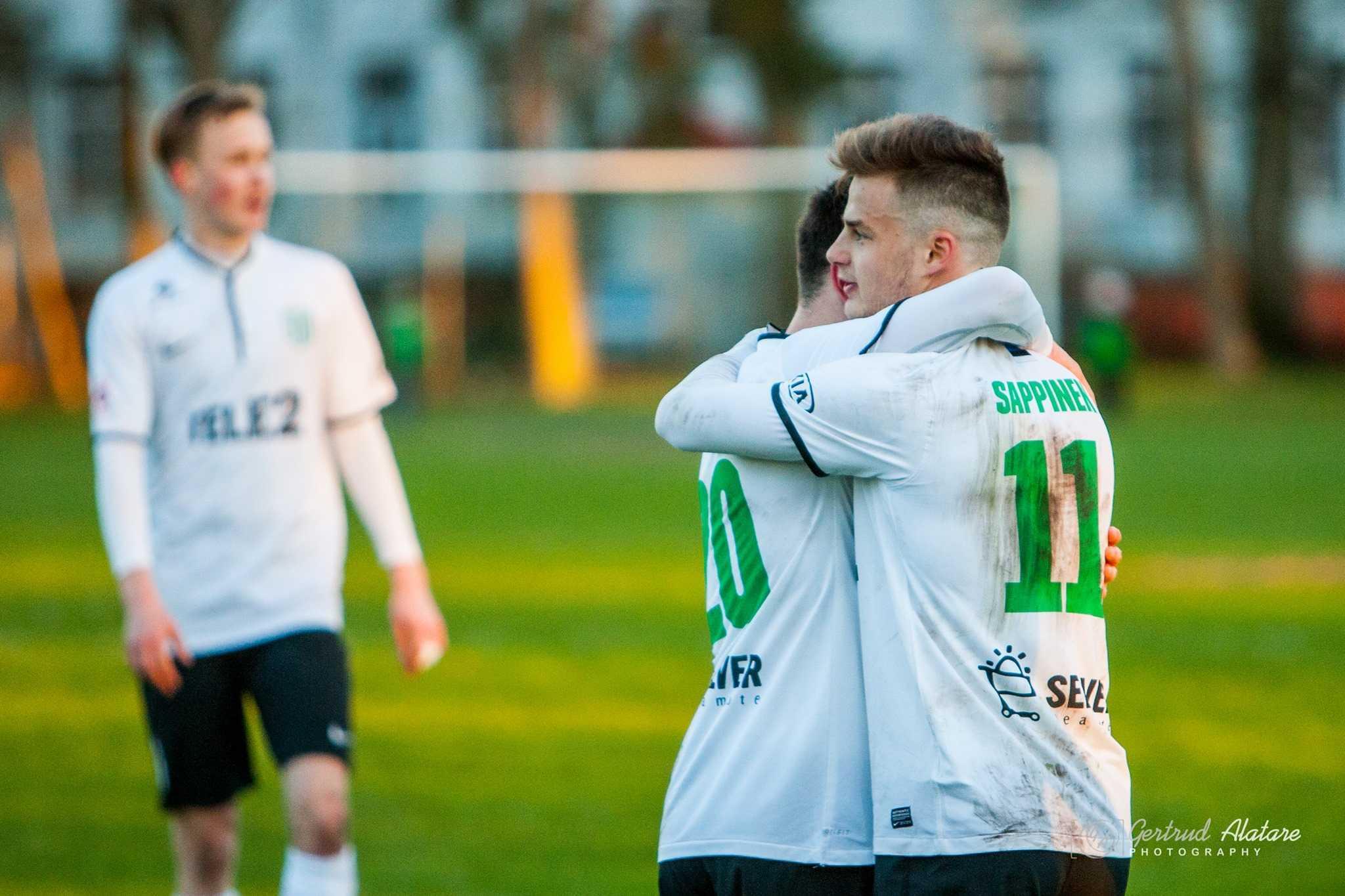 Rauno Sappinen, Pärnu Linnameeskond vs FC Flora 22.04.2016