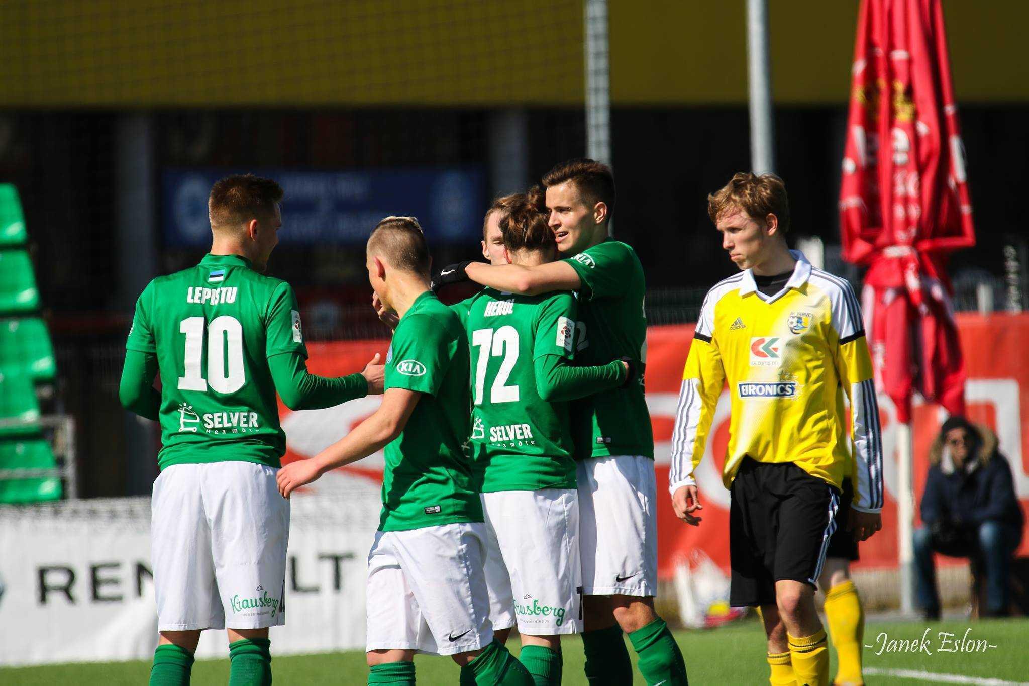 Flora U21 vs Kohtla-Järve JK Järve