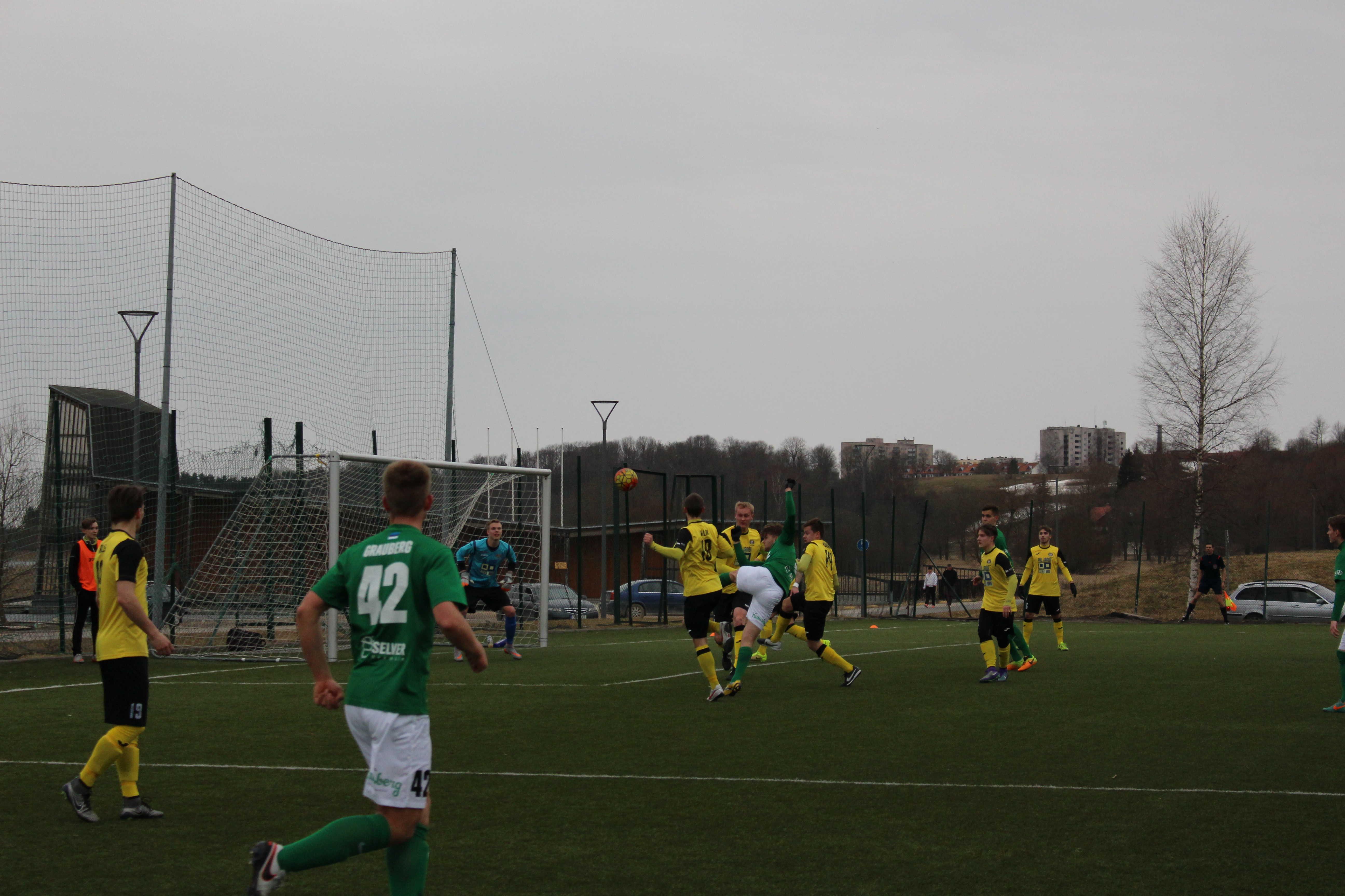 Flora U21 vs Viljandi JK Tulevik