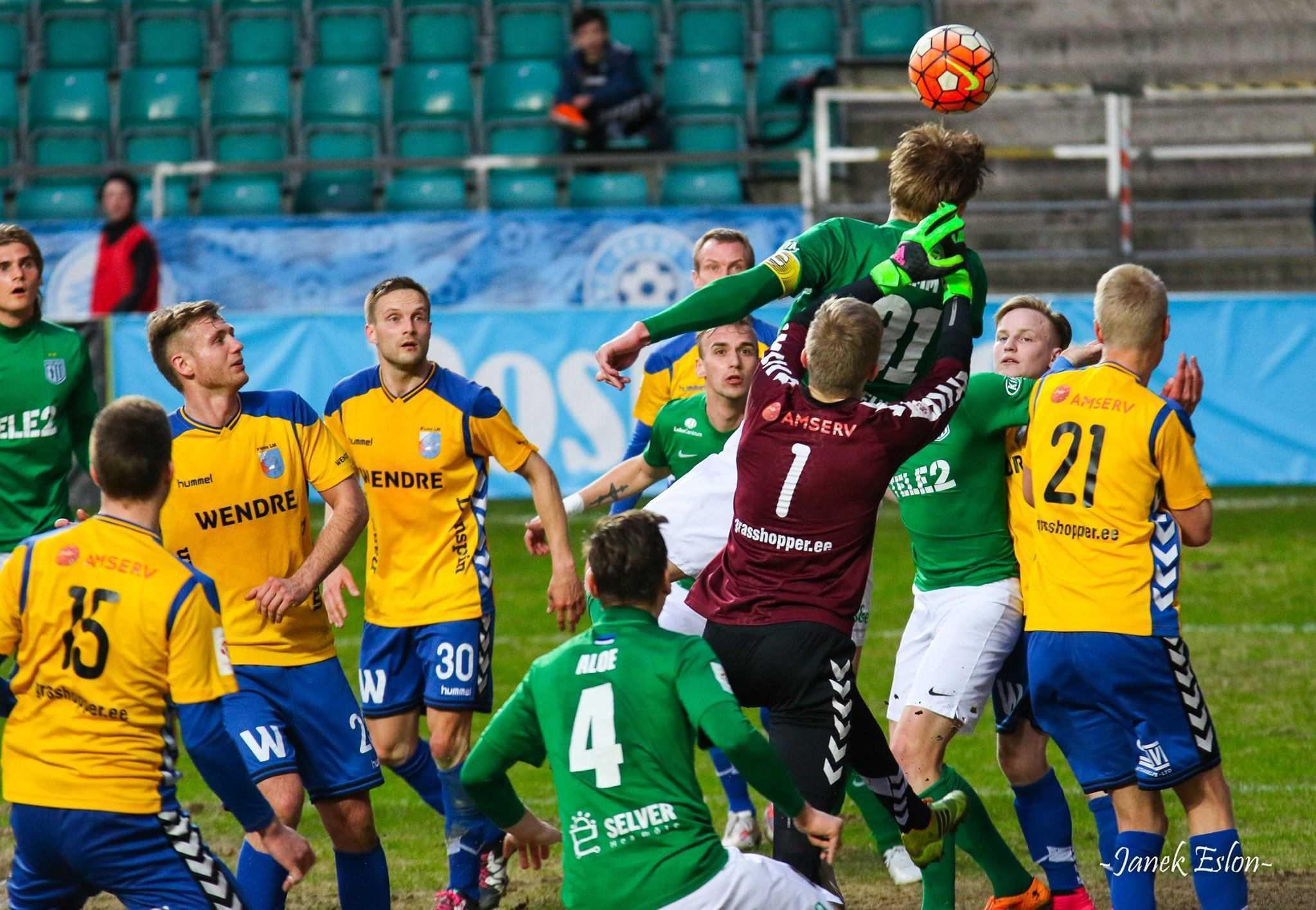 Joonas Tamm vs Pärnu Linnameeskond 29.04.2016