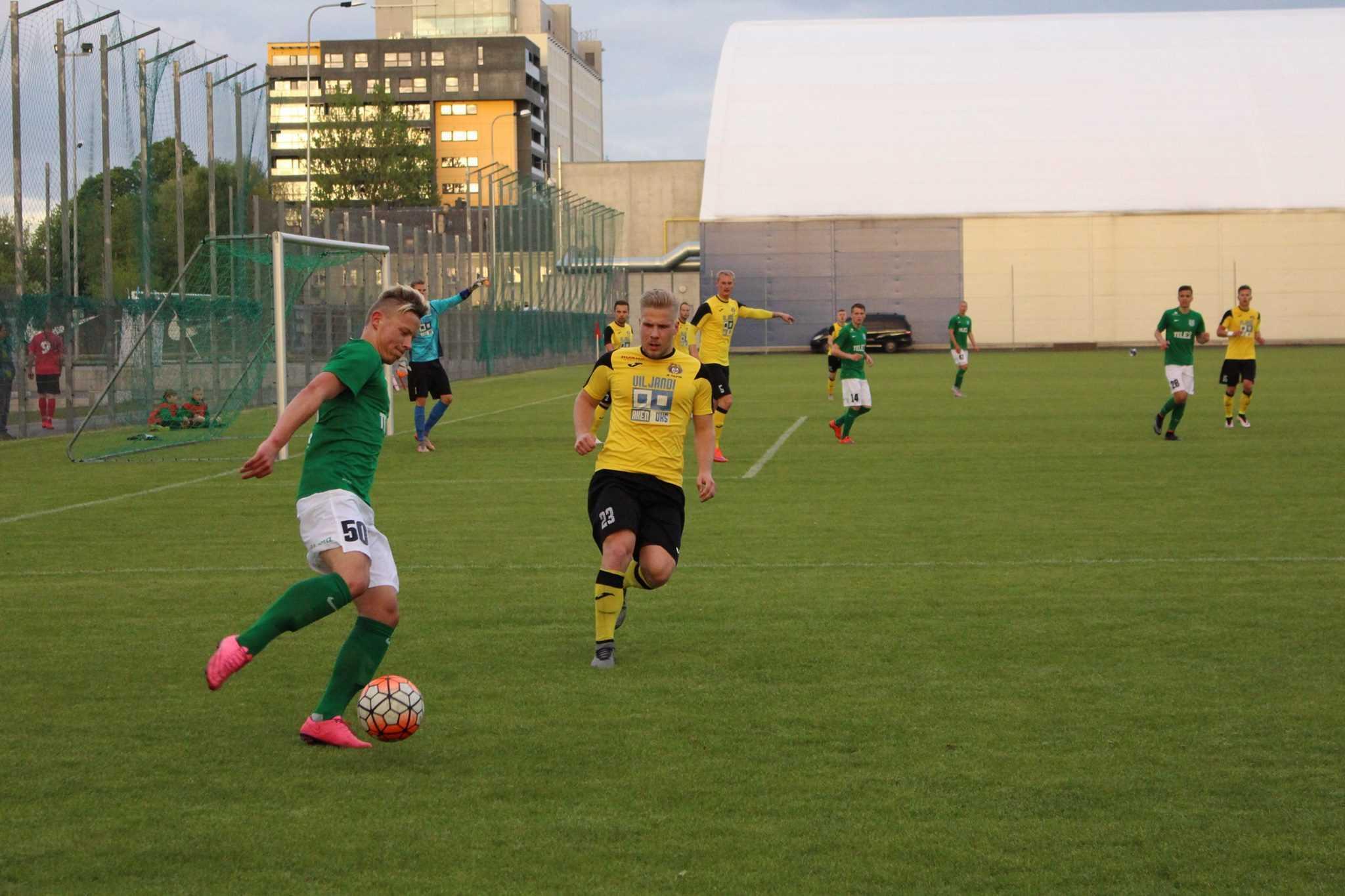 Erik Sorga vs Viljandi Tulevik 19. mai 2016