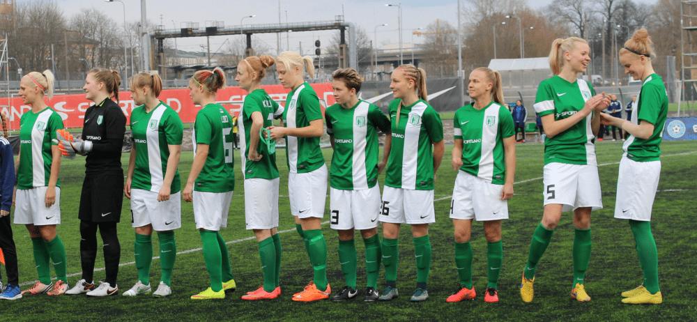 FC Flora naiskond vs Pärnu JK