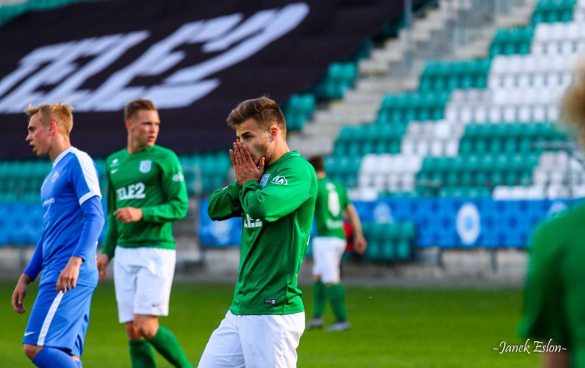 Rauno Sappinen vs Tartu Tammeka 16. mai 2016