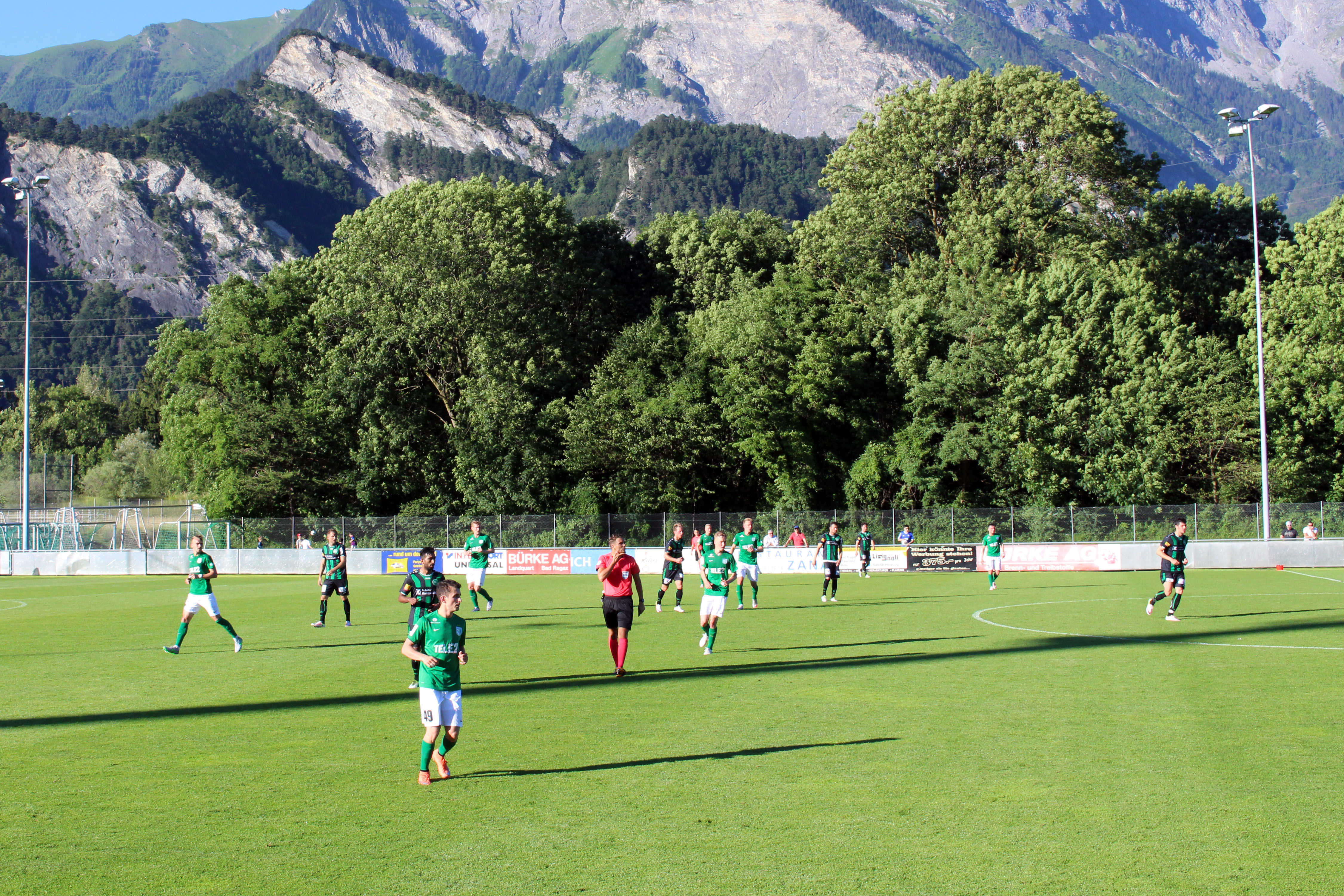 FC Flora Šveitsis Bad Ragazis treeningmängus St.Galleni vastu
