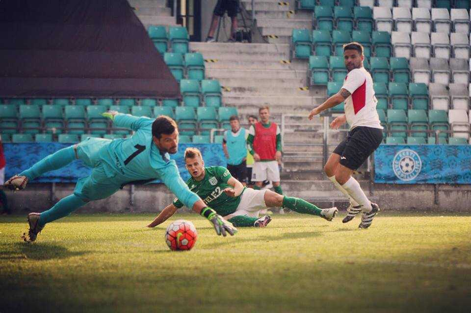 Rauno Sappinen vs Lincoln Red Imps 28.06.2016