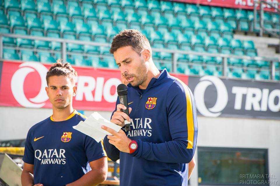 FC Barcelona laagri treenerite koordinaator Albert Medall Mundet