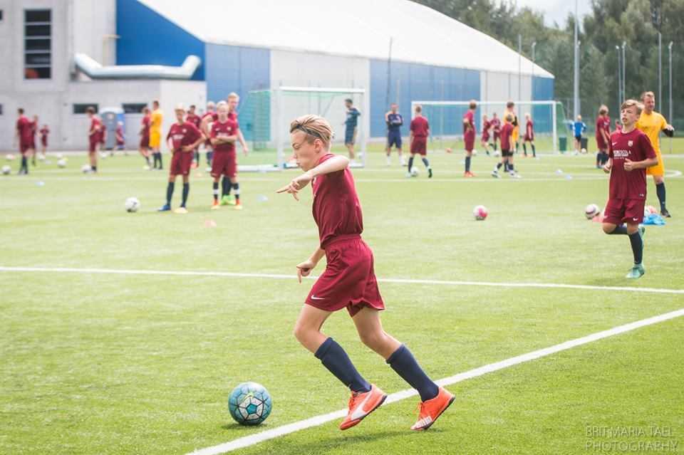 FC Barcelona laager Tallinnas juuli 2016