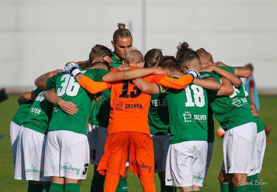 FC Flora U21 vs Infonet II, 16. juuli 2016