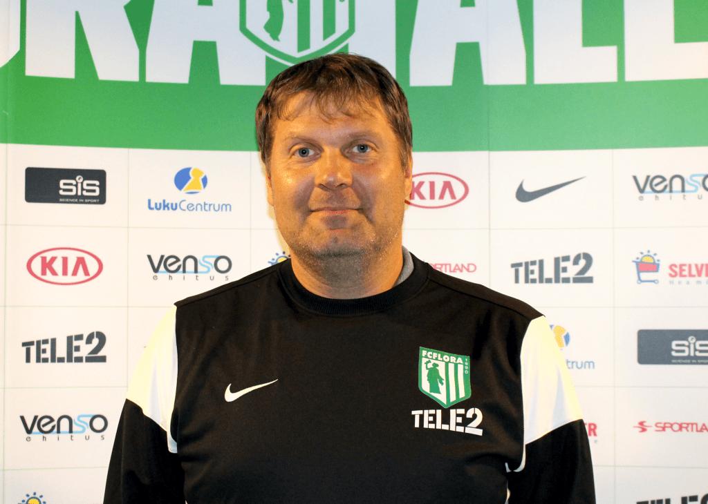 FC Flora peatreener Argo Arbeiter