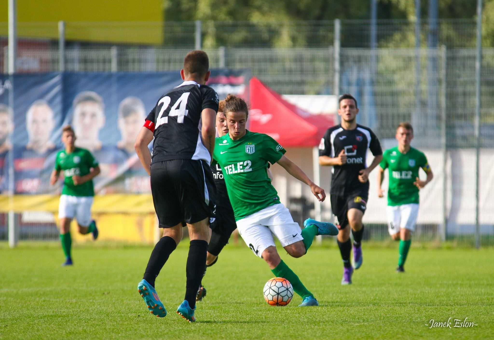 Herol Riiberg, FC Flora U21 vs Infonet II, 16. juuli 2016