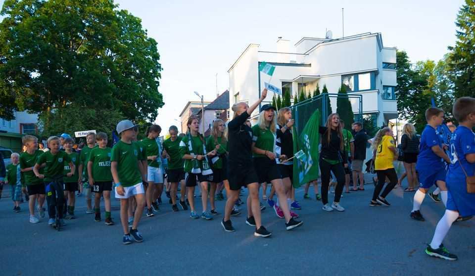 Pärnu Summer Cup 2016 rongkäik. Foto: Raido Kull.