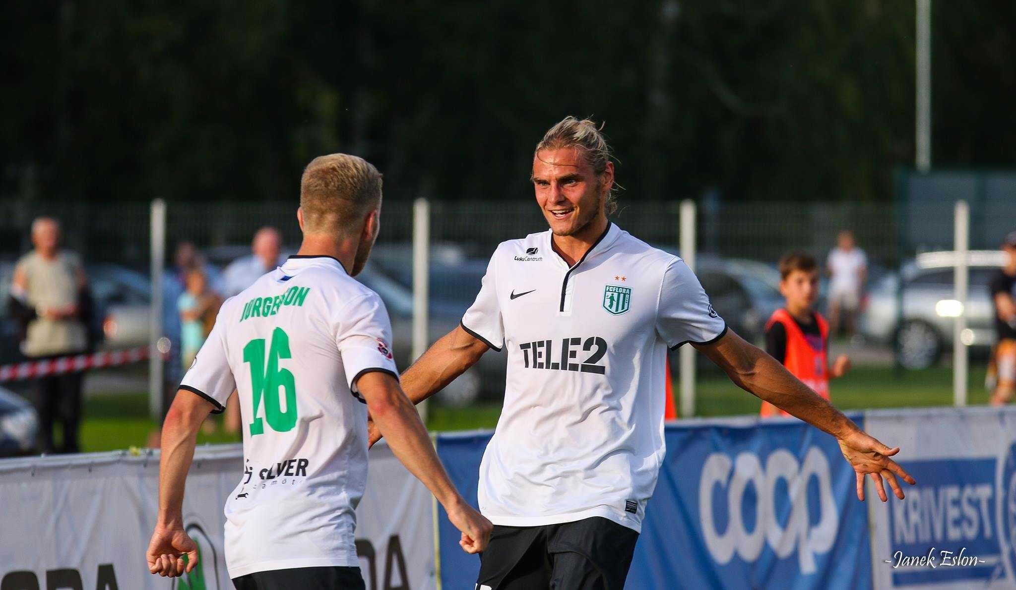 Sakari Tukiainen ja Markus Jürgenson vs Paide Linnameeskond 29. juulil 2016