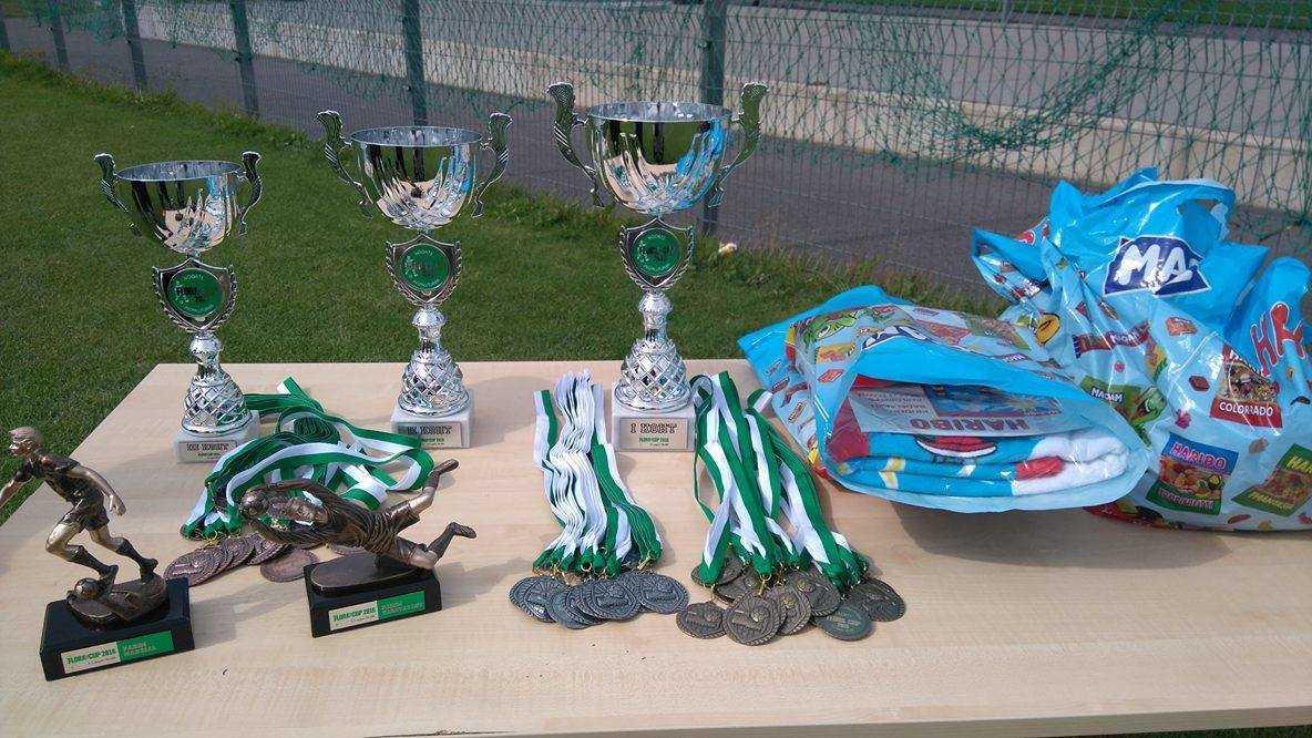 Flora Cup 2016 auhinnad
