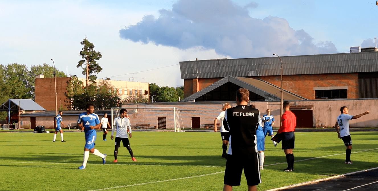 FC Flora vs Sillamäe Kalev, 19. august 2016