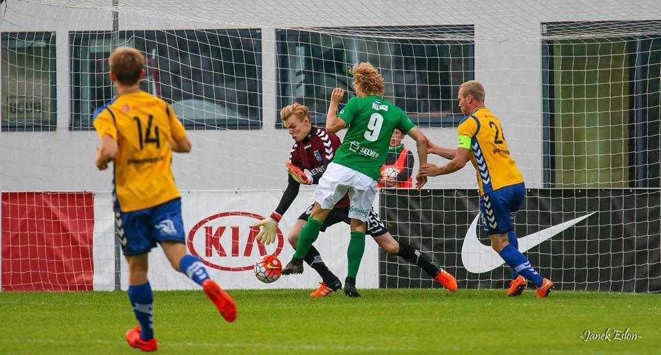 Rauno Alliku vs Pärnu Linnameeskond 12. augustil 2016