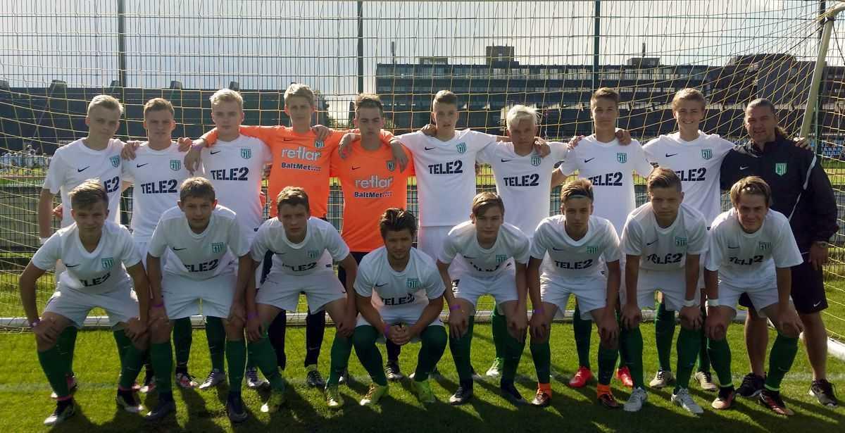 U17 Eliitliiga poisid Brøndby Cupil 2