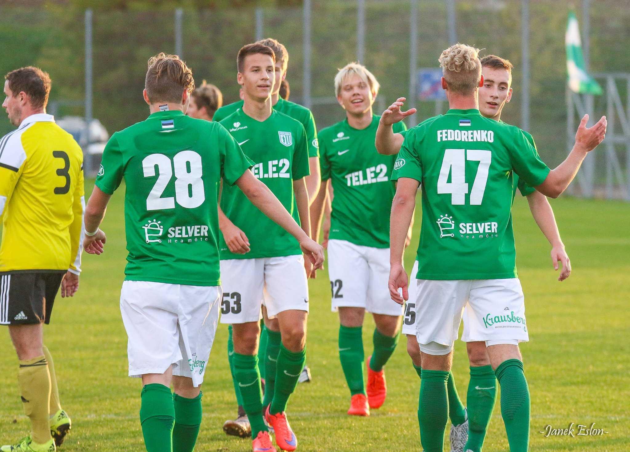 Flora U21 vs JK Järve