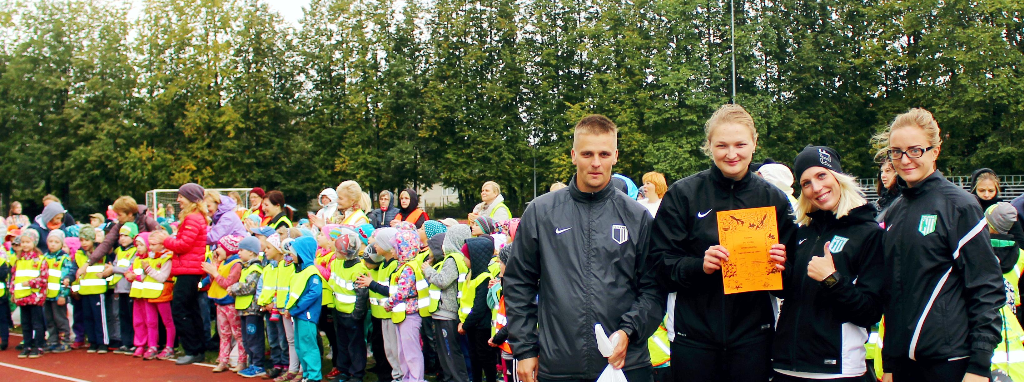 FC Flora Kristiine lasteaedade spordipäeval